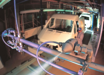Automotive manufacturing humidification