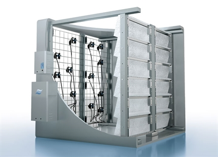 Condair DL hybrid spray & evaporative humidifier