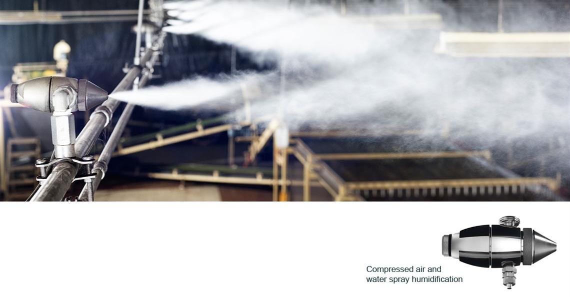 Tea factory humidity control