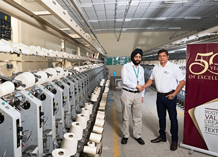 Humidity Equals Productivity at VMT Spinning, India