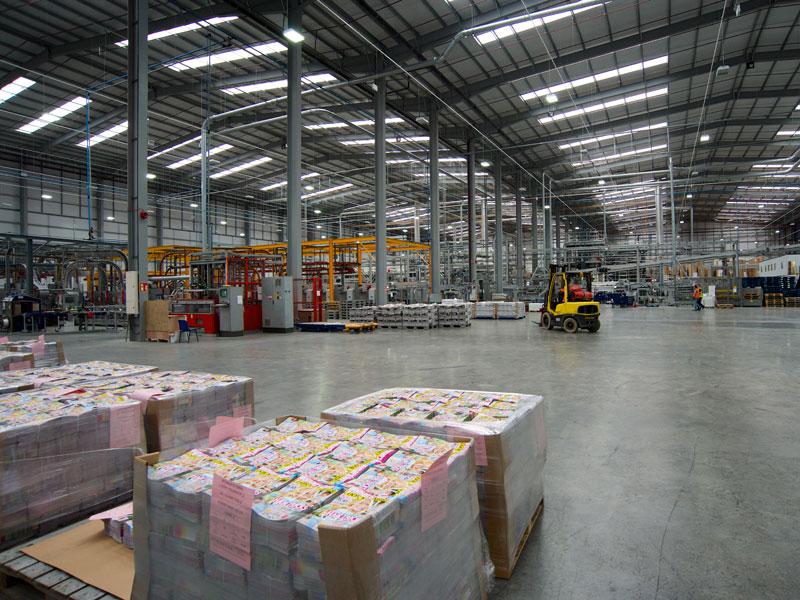 Polestar print Sheffield warehouse