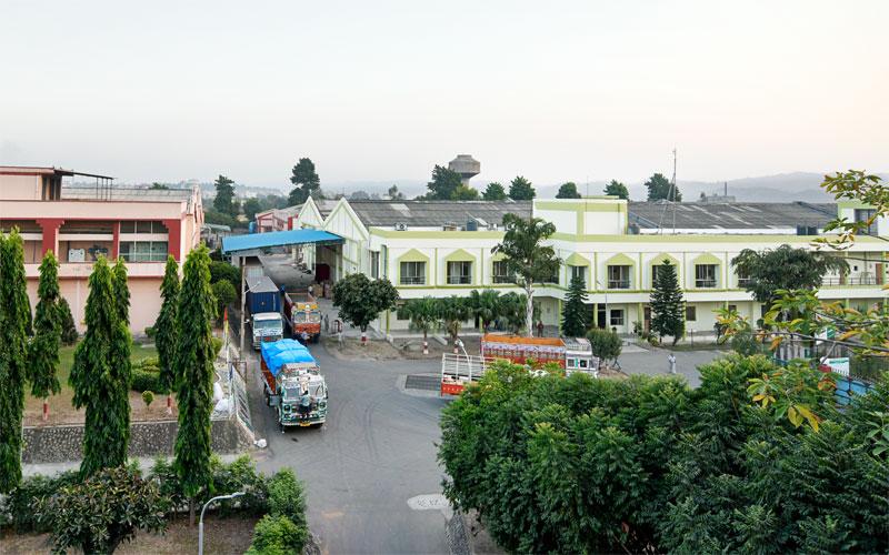 VMT Spinning Company at Baddi, India