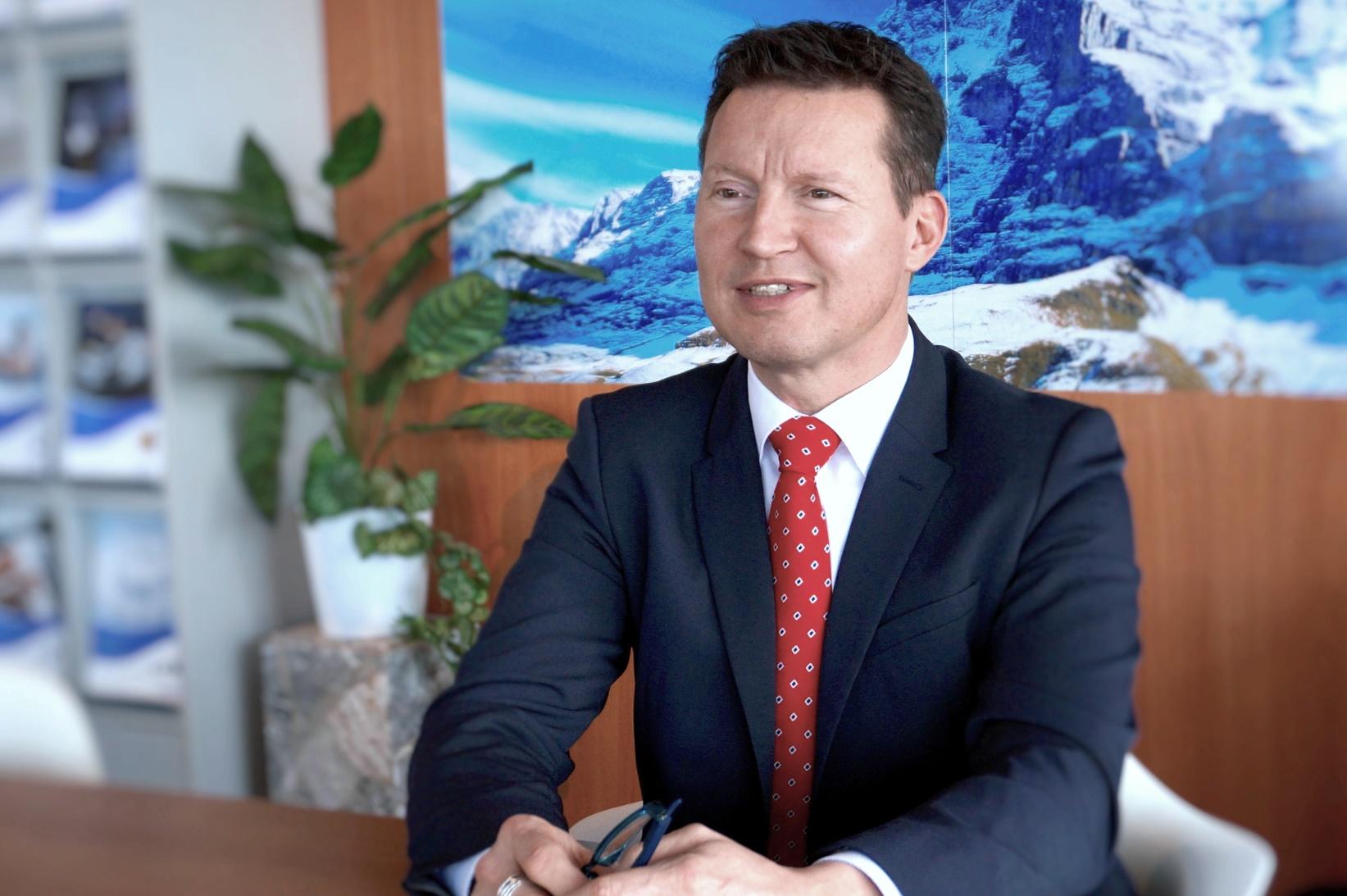 Roland Kleeb, CFO Condair Group