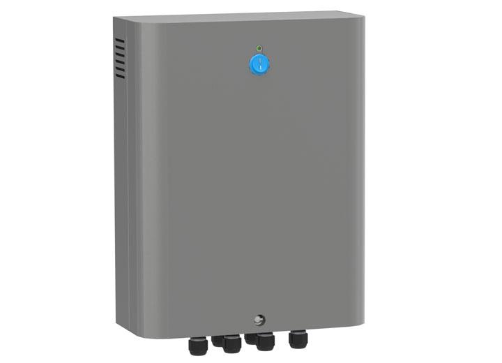 Kanal içi evaporatif soğutucu kontrol paneli