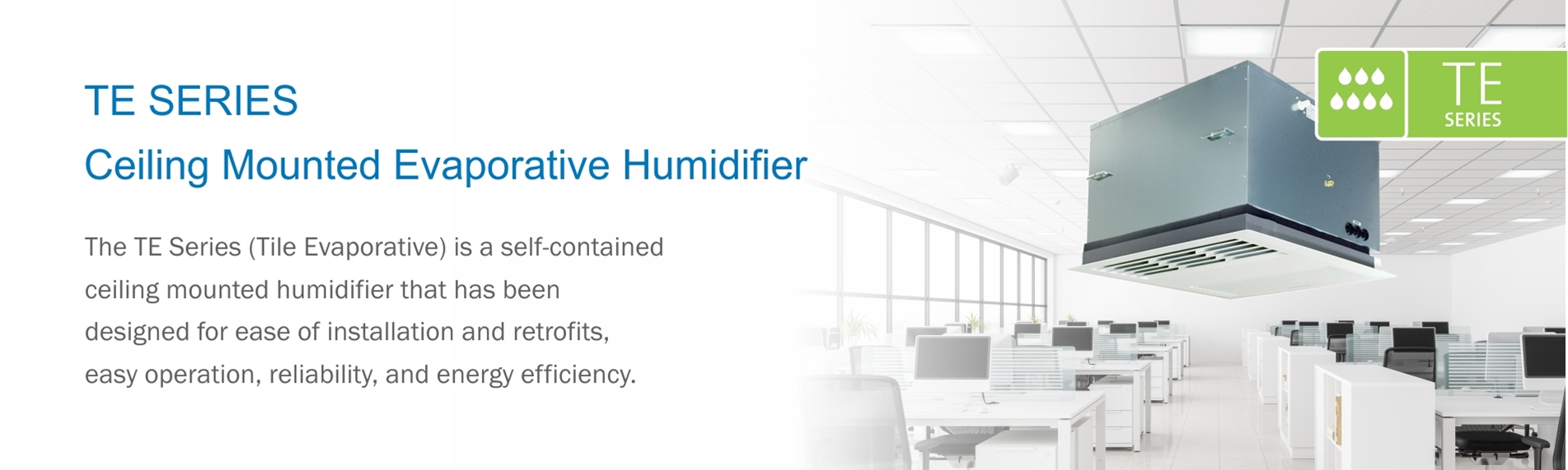 TE Evaporative Humidifier by Condair