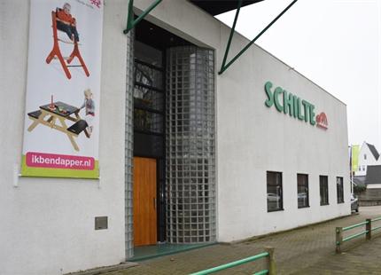 Condair ML Princess in de productieruimte van Schilte in IJsselstein