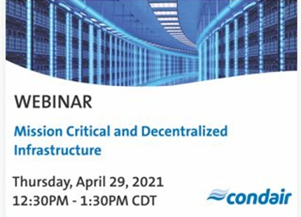 WEBINAR | Mission Critical and Decentralized Infrastructure