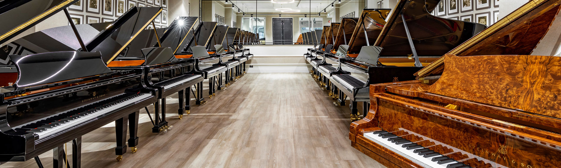 Steinway's showroom in tune with Condair steam humidifiers