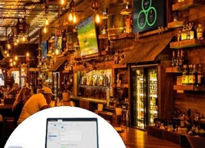 Condair Cube in use at a restaurant