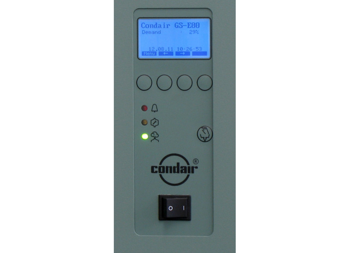 Humidifier control panel