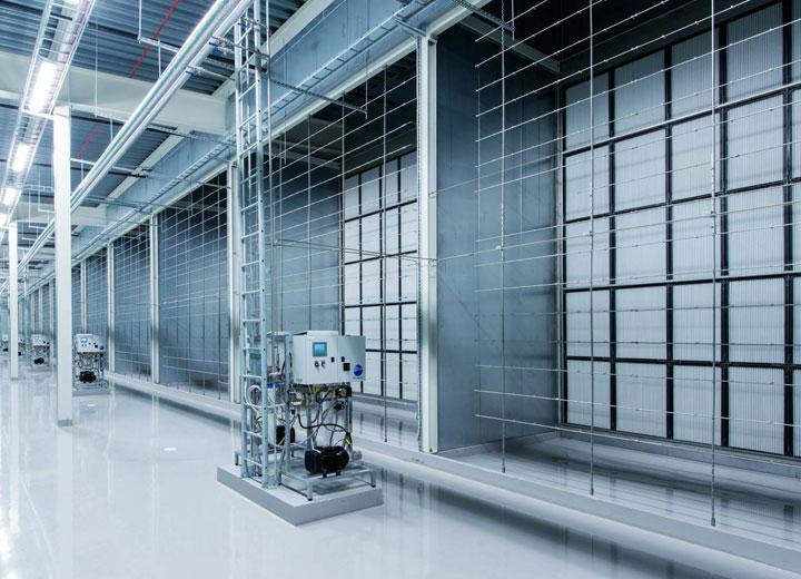 Condair HP højtryksbefugter er velegnet i ventilationsanlæg