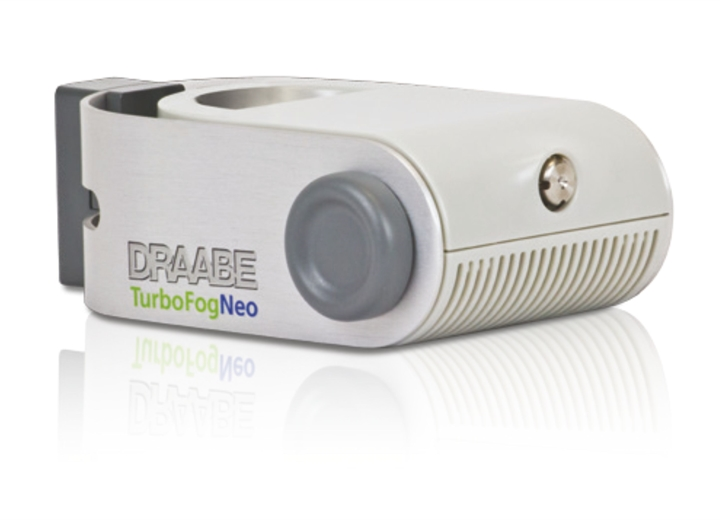 Draabe Turbofog Neo1 Humidifier - Single atomizer with one stainless steel nozzle