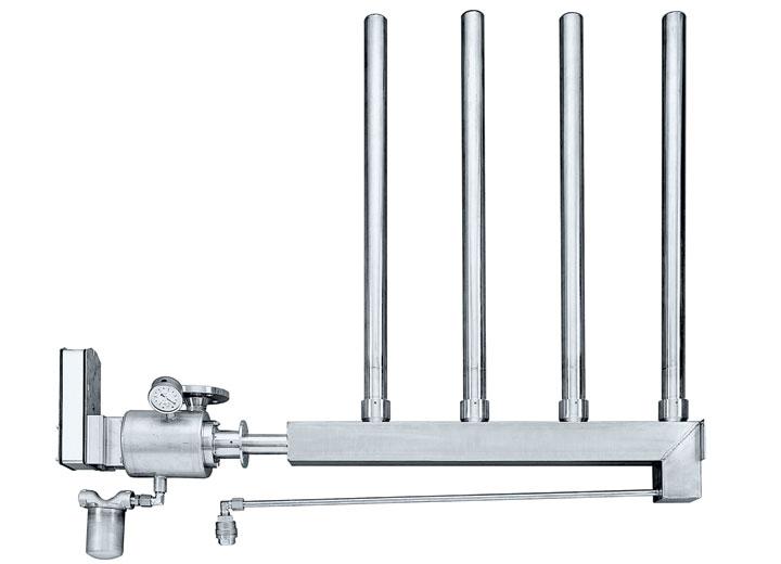 Condair ESCO fås i rustfrit stål eller støbejern