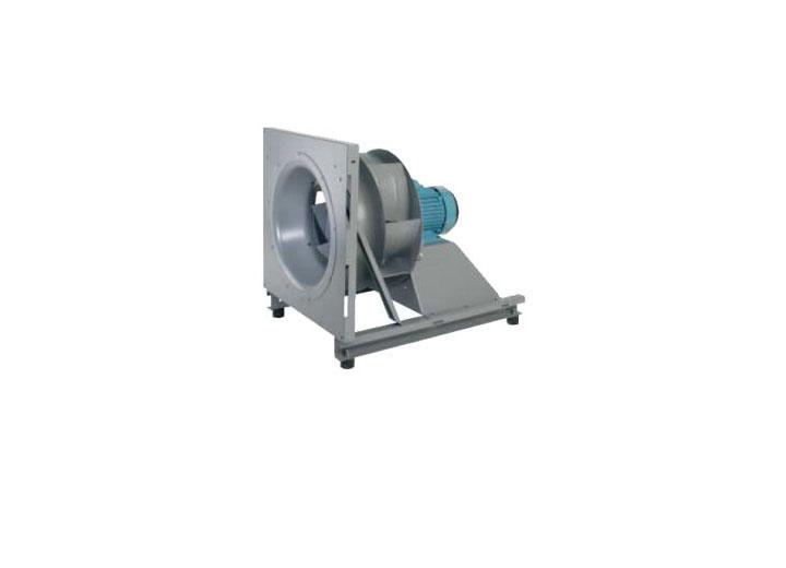 Centrifugaal ventilator licht
