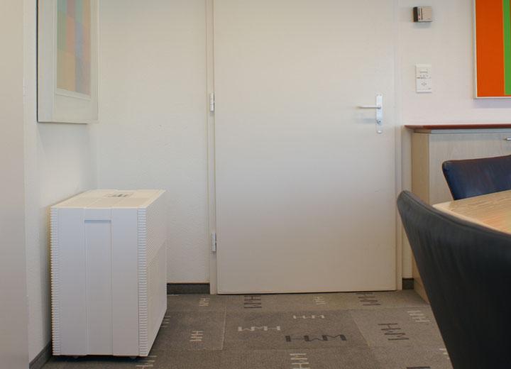 Defensor PH15 är väl lämpad för kontor, muséer eller rum på upp till 580 m³