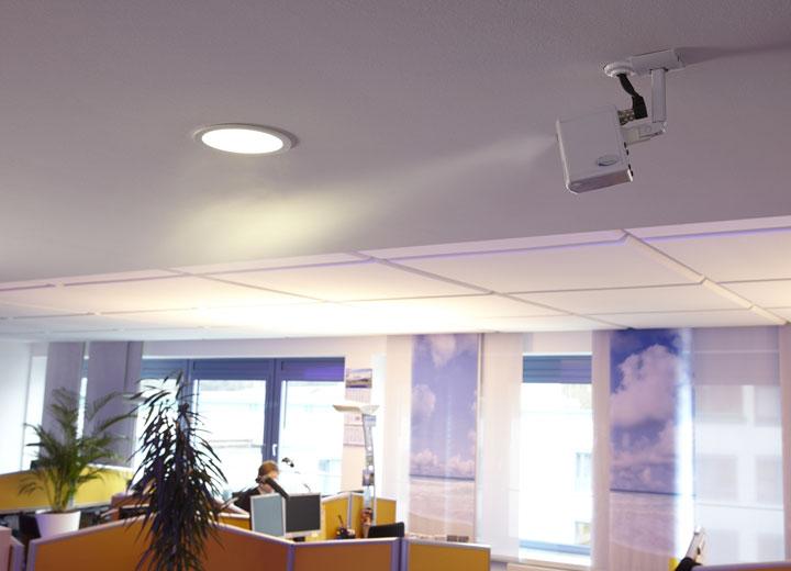 Väl lämpad för kontorsbyggnader utan ventilationskanaler