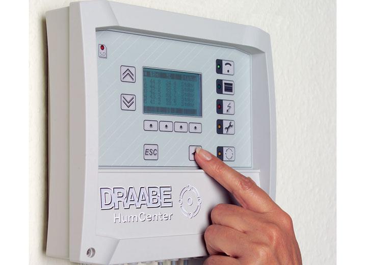 Kontrolpanel med information om hele systemet
