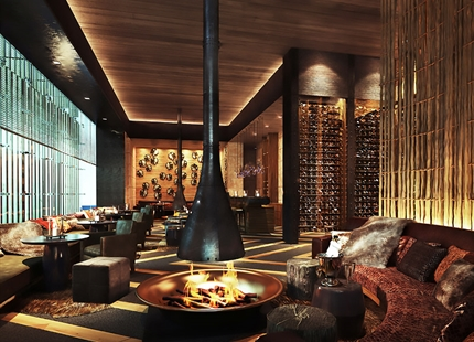 Hybrid humidifiers at Chedi Hotel, Switzerland