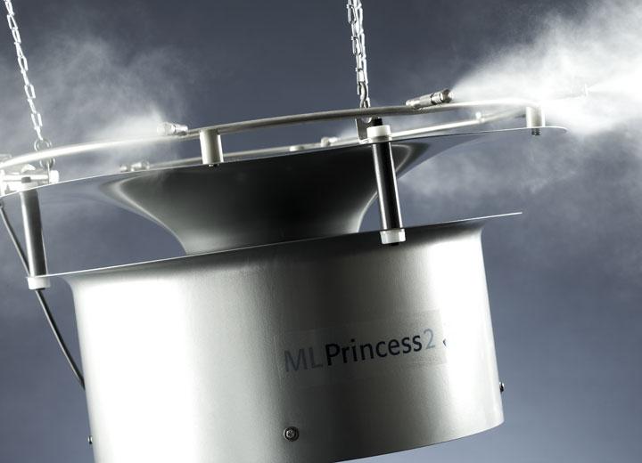 Varje fördelningsenhet kan leverera 12-54 liter i timmen