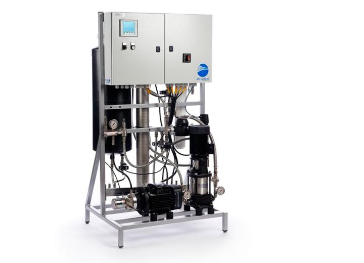 BactiQuant rent vatten med MLPRO pumpsystem