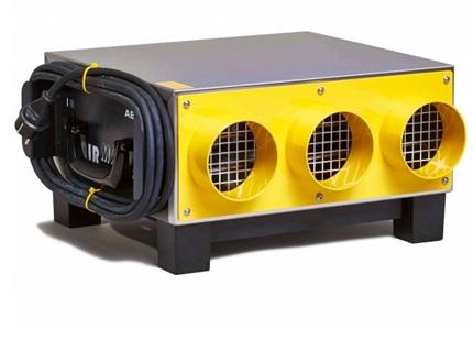 Ventilator för cirkulering av luft