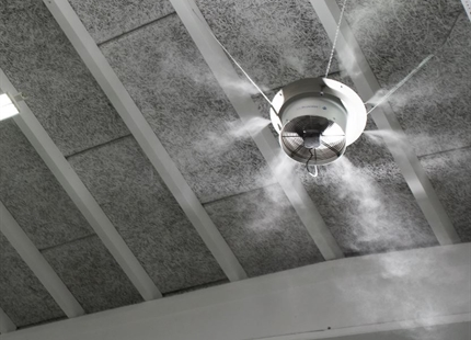 Voordelen adiabatische luchtbevochtiging