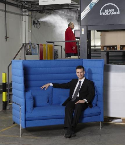 Luftbefeuchtung in der Druckindustrie, verlässlicher Partner