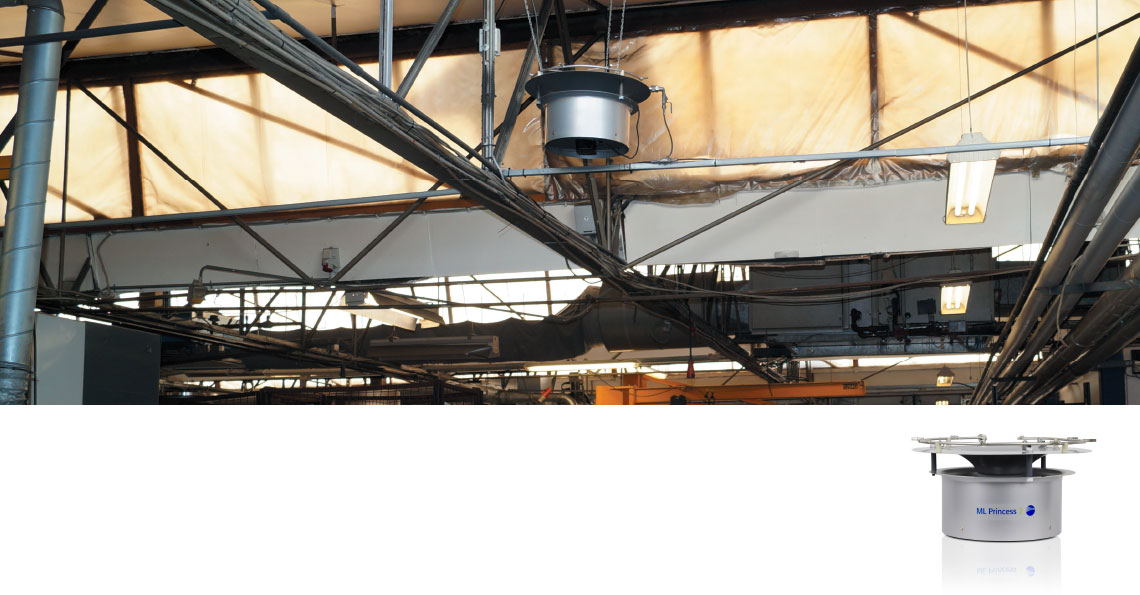 Metalstøberi sparer energi med evaporativ køling