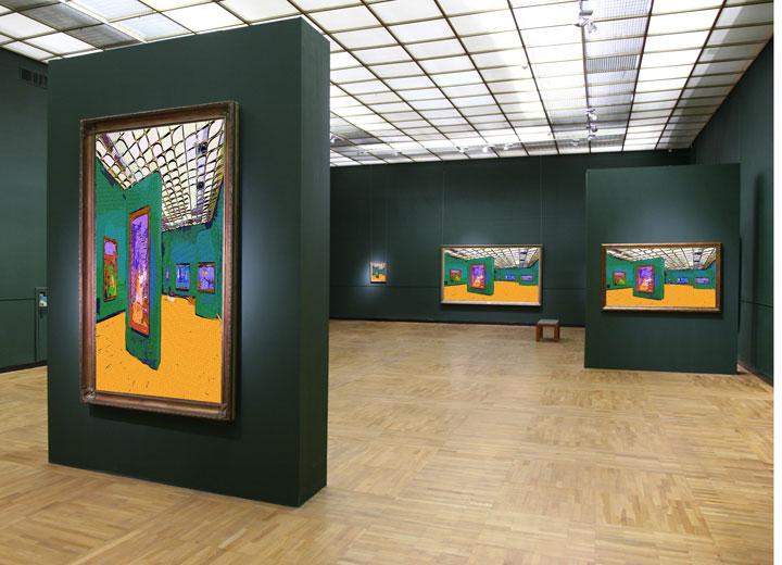 Humidification de l'air et contrôle de l'hygrométrie dans les musées, galeries et lieux où sont conservées des œuvres d'art et des antiquités