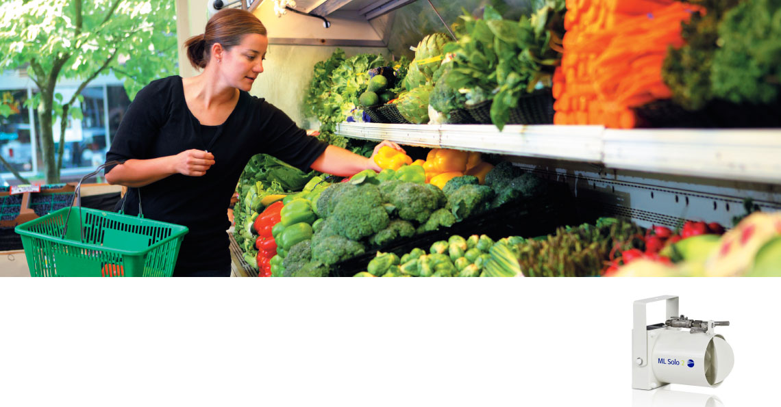 Køling og befugtning forlænger holdbarhed i supermarkeder