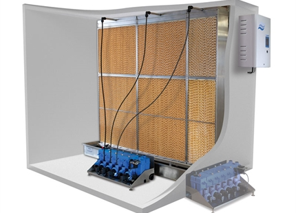 New - Condair ME evaporative humidifier & cooler