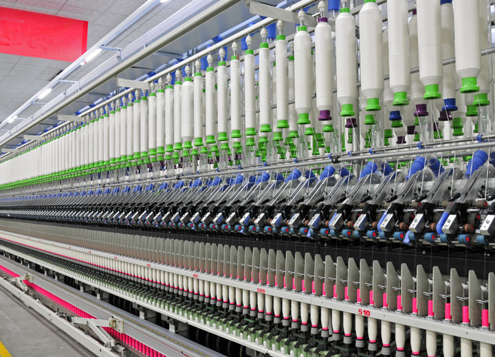 纺织品生产中的加湿