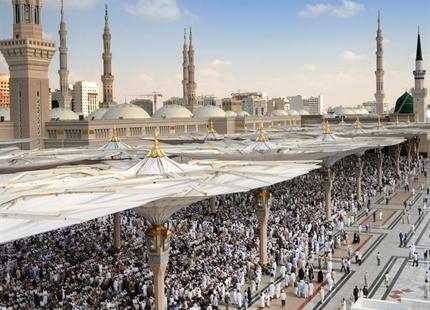 Udendørs køling i Saudi-Arabien
