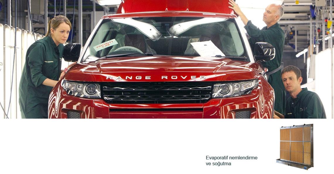 Otomobil üretiminde nemlendirme