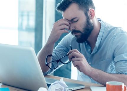 Trockene Luft im Büro macht krank