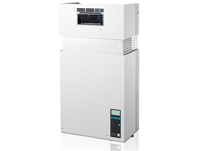 Humidificador por vapor Condair CP3 con unidad de ventilación