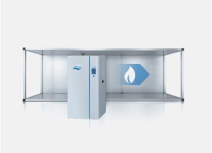 Hur fungerar en gasdriven ångluftfuktare?