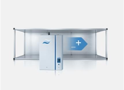 Hvordan virker en dampbefugter med elektrodeopvarmning?