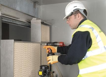 Uppstart och installation av luftfuktare