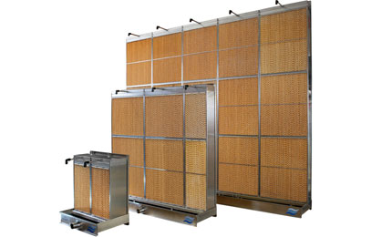Evaporative module custom size options