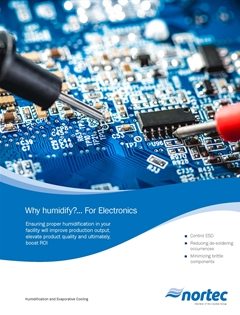 Humidity for electronics brochure