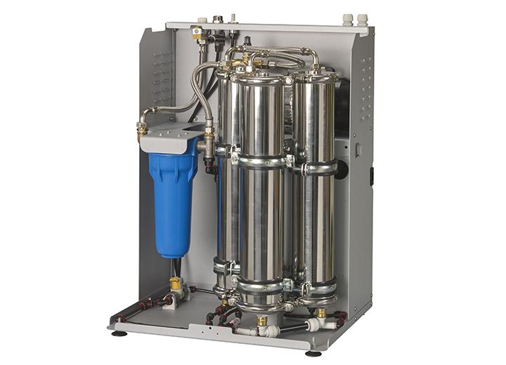 RO-A med membraner og ekstern trykbeholder