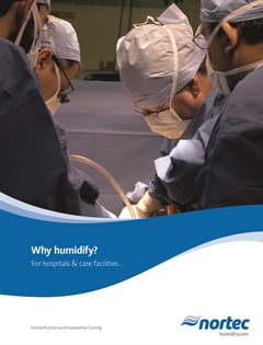 Why Humidity for Hospitals and Care Facilities brochure