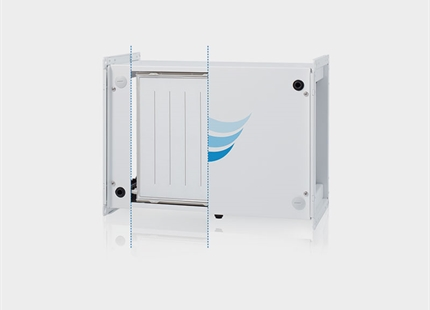 Condair HumiLife - Diffusionsluftbefeuchtung für die kontrollierte Wohnraumlüftung (KWL)