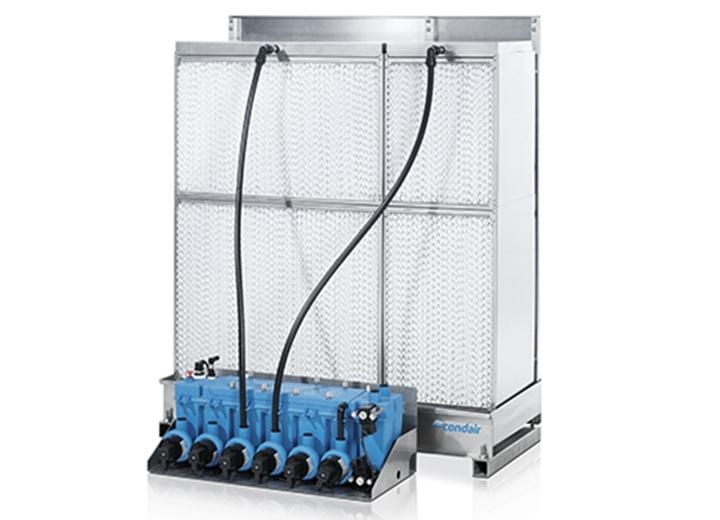 Kann innerhalb oder außerhalb des RLT-Gerätes platziert werden.
