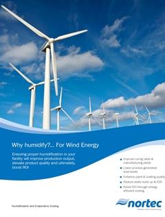 Wind energy and humidity brochure