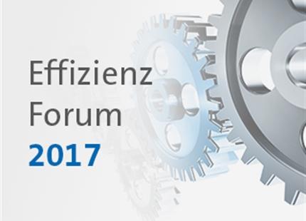 Effizienz-Forum 2017