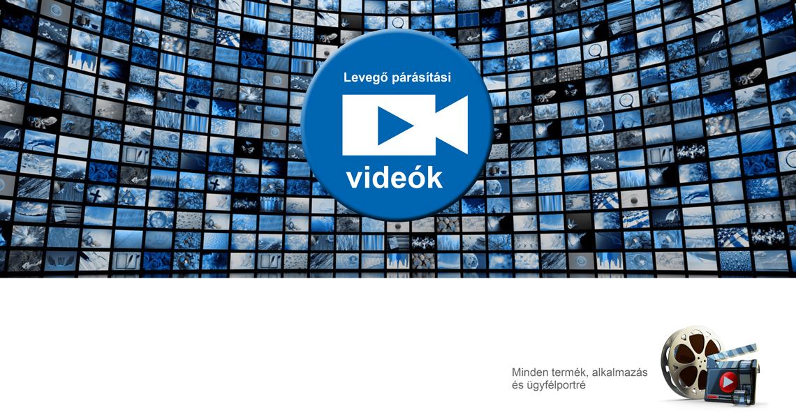 Levegő párásítási videók