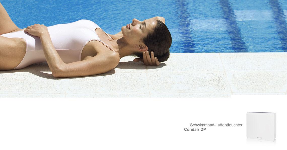 Schwimmbad-Luftentfeuchter Condair DP