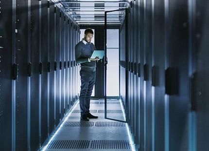 Luchtbevochtiging en adiabatische koeling in datacenters en server ruimtes